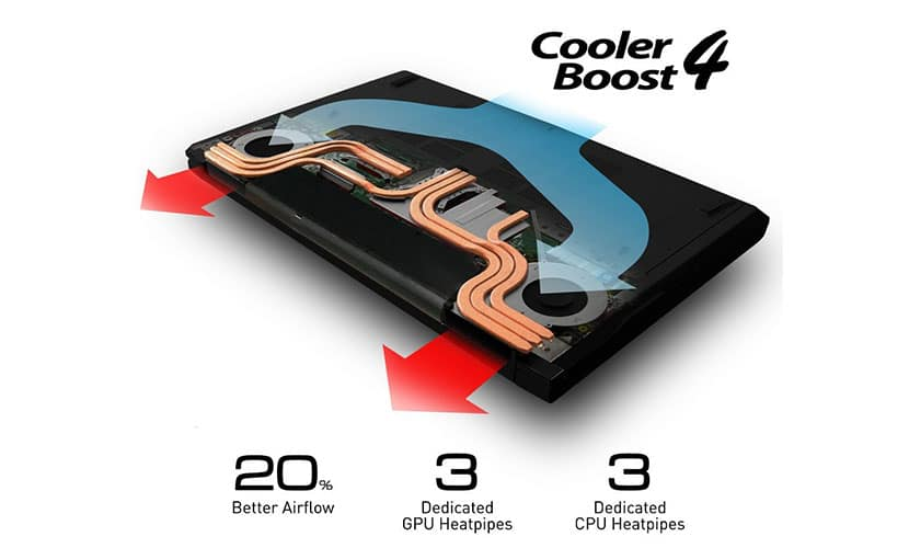 Cooler boost 4 MSI GV72 8RE-007