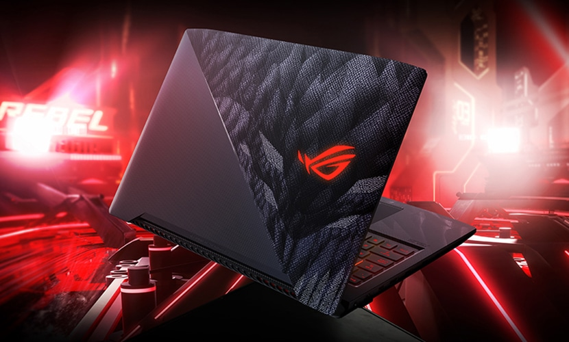Design ASUS ROG Strix GL503GE-ES52 Hero Edition