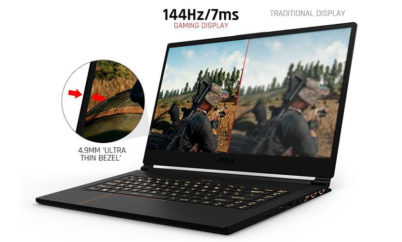 Gaming Display MSI GS65 Stealth Thin-054
