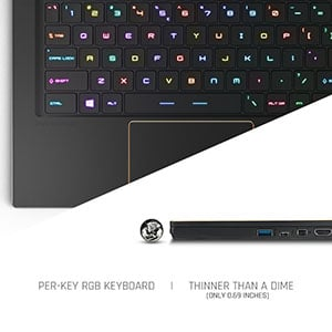 Keyboard MSI GS65 Stealth Thin-054 gaming laptop