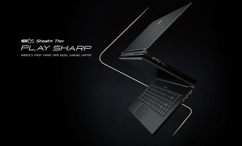 MSI GS65 Stealth THIN-053 Gaming Laptop featured cover