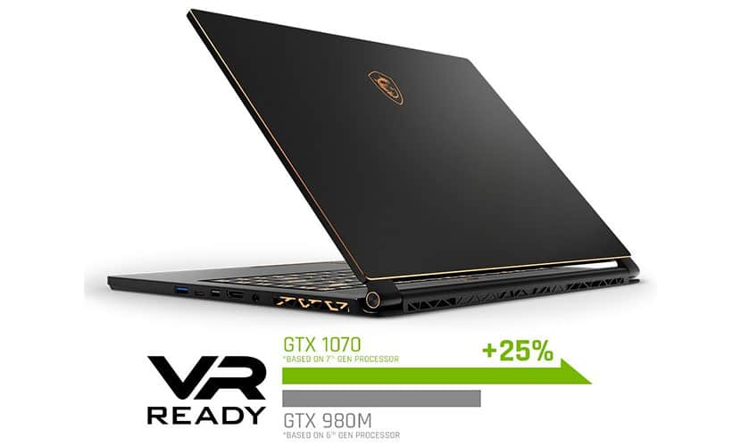 MSI GS65 Stealth Thin-054 gaming laptop with GTX 1070