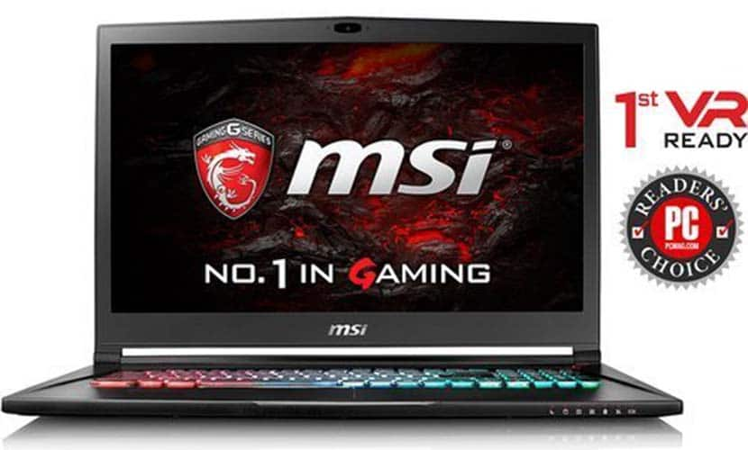 MSI GS73 STEALTH-012 Thin and Light Gaming Laptop