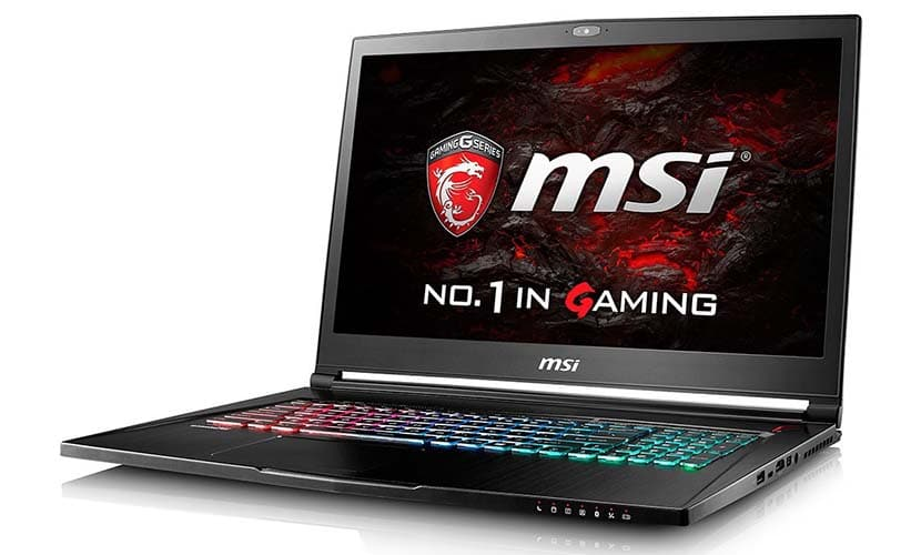 MSI GS73 STEALTH-016 Thin and Light Gaming Laptop