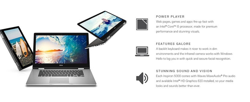 features Dell Inspiron 13 5000 Series 2-in-1 5379 Laptop