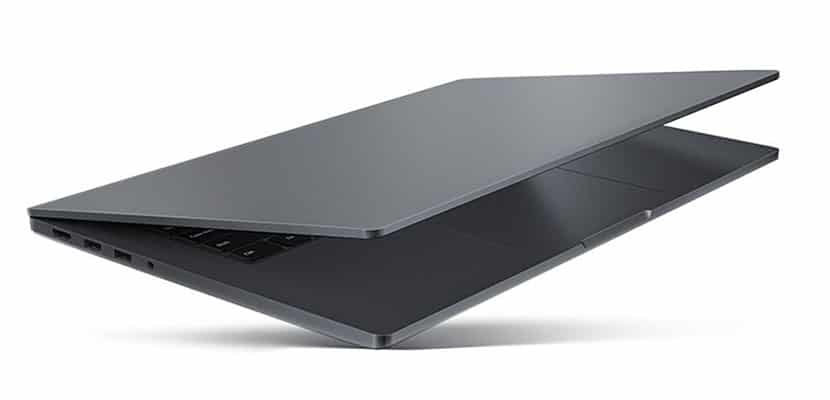 metallic uni body design Xiaomi Mi Notebook Pro