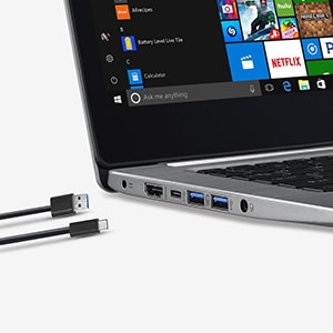 USB 3 and type C Acer Swift 3 SF314-52G-55WQ