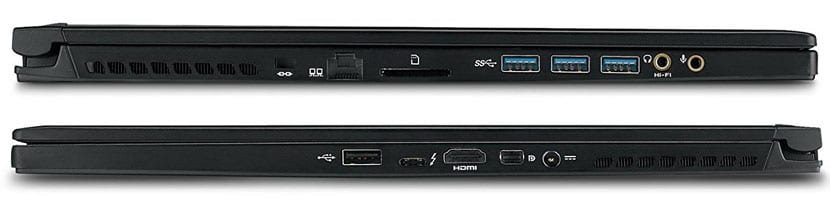 ports and connectivity MSI GS73 Stealth-016