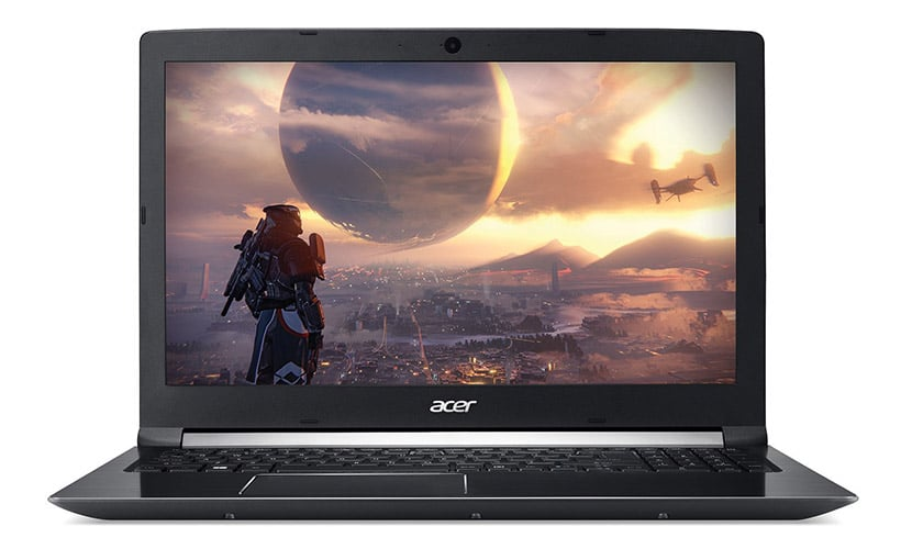 Acer Aspire 7 Gaming Laptop Comes with GTX 1050 Ti and i7-8750H (A715-72G-71CT)