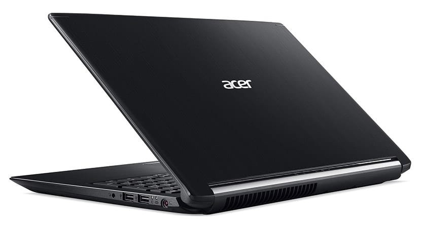 Design Acer Aspire 7 A715-72G-71CT gaming laptop