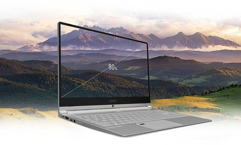 Display MSI Prestige PS42 slim ultrabook