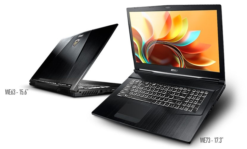 featured cover MSI WE73 Workstation Laptop