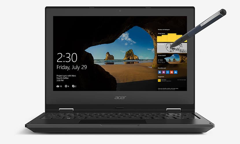 Acer TravelMate Spin B1 TMB118-RN-C6F3 Review