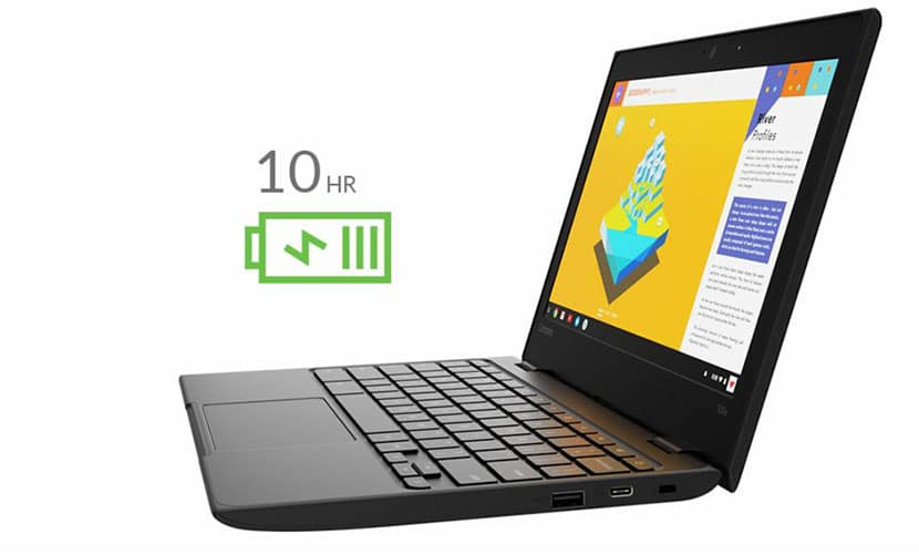 Battery Life Lenovo 100e Chromebook