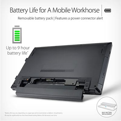 Battery life ASUSPRO P2540UB-XB51