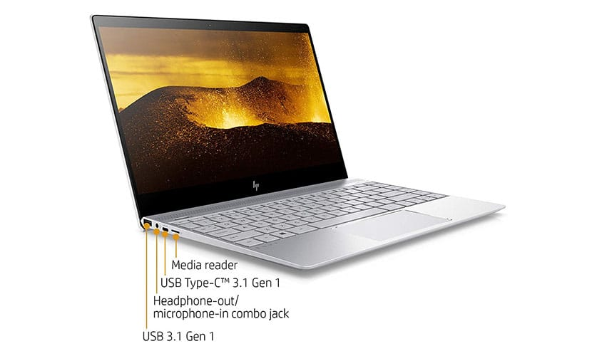 Connectivity HP ENVY 13-ad120nr Lightweight Laptop