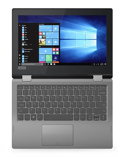 Display and Keyboard Lenovo Flex 6 11-inch Convertible Laptop