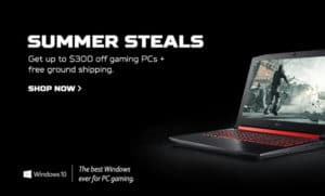Featured image Acer Summer Steals 2018