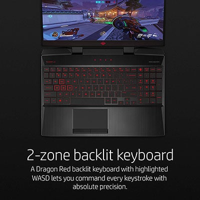 Keyboard HP OMEN 15-dc0020nr Thin and Light Gaming Laptop