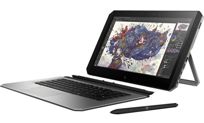 Keyboard and sticky pen HP ZBook x2 G4 Detachable