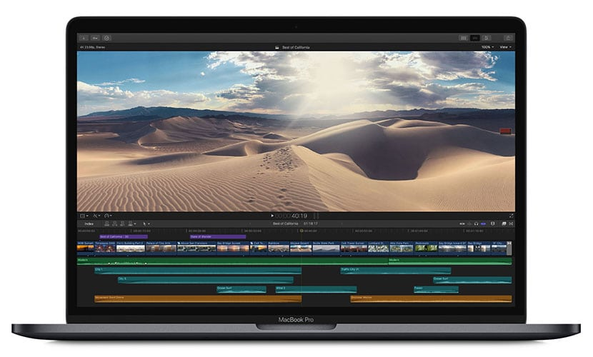Video editing Newest Apple MacBook Pro (8th Gen
