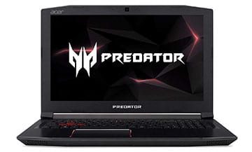 Acer Predator Helios 300 Recommended Gaming Laptop for WoW