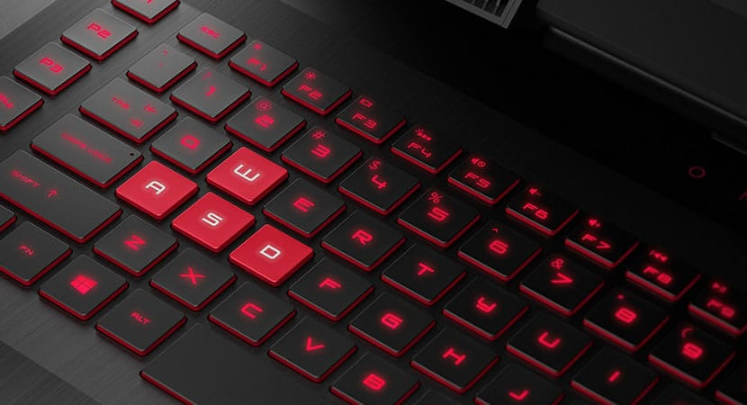 Backlit keyboard HP OMEN 17t Premium