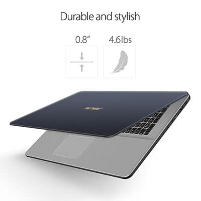 Design and portability ASUS VivoBook Pro 17 N705UD-EH76