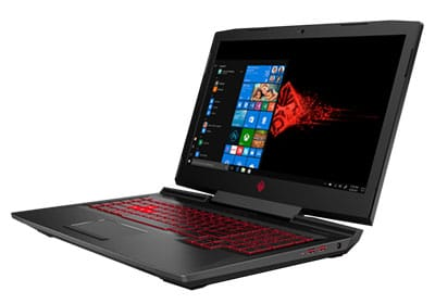 Display HP OMEN 17t Premium Gaming Laptop