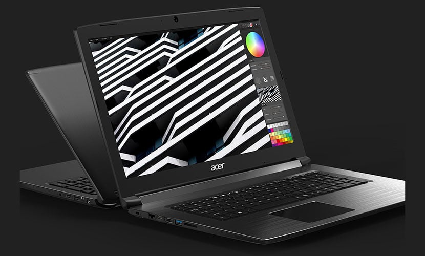 Display and graphics Acer Aspire 7 A717-72G-76V1