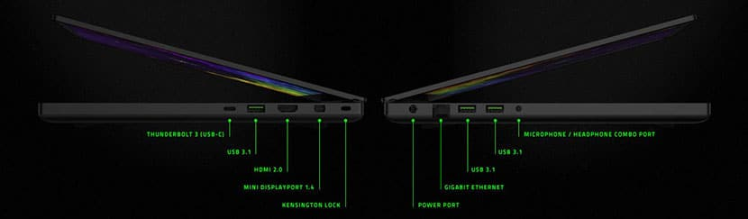 connectivity new razer blade 15 dual storage gaming laptop