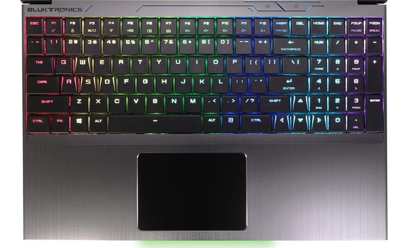 eluktronics MECH-15 g2 gaming laptop comes with mechanical keyboard