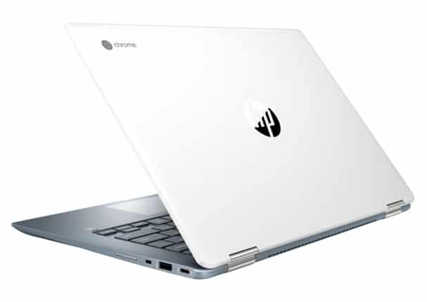 hp chromebook x360 14 back rear