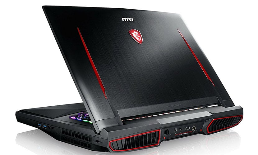 msi gt75 titan-056 and titan-057 comes with intel i7-8850h processor