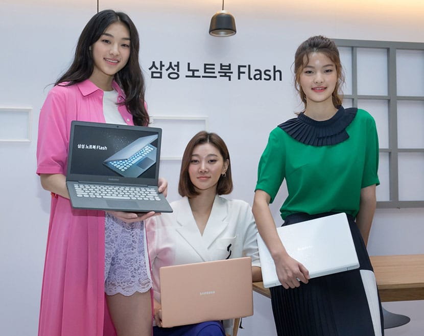 samsung notebook flash launched in korea