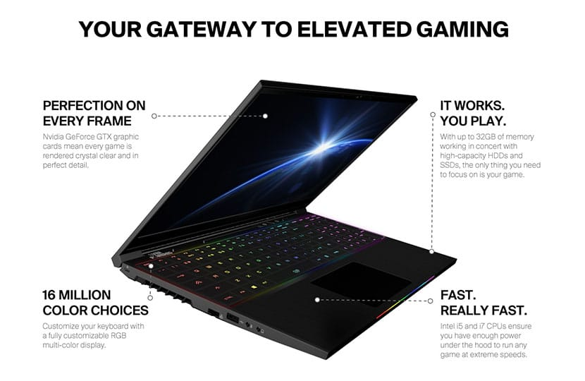 esports arena launches overpowered gaming laptops