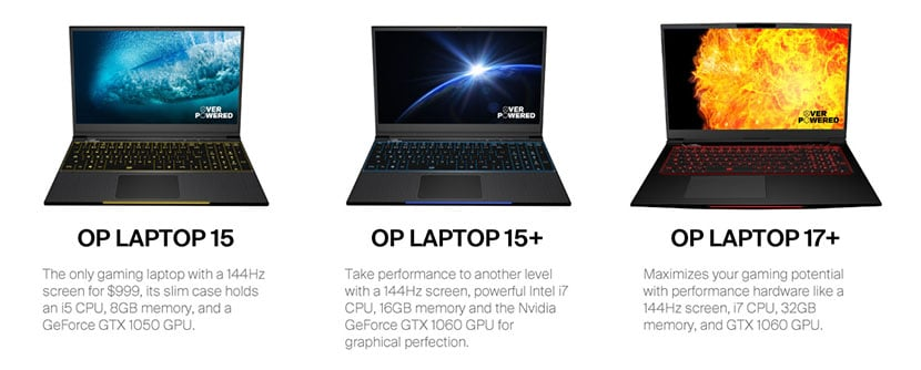 overpowered gaming laptops