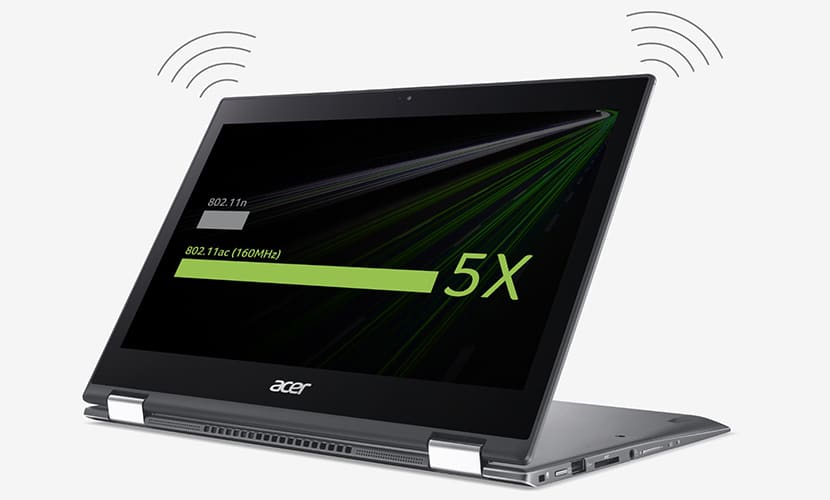 wireless acer spin 5 sp513-52n-85lz