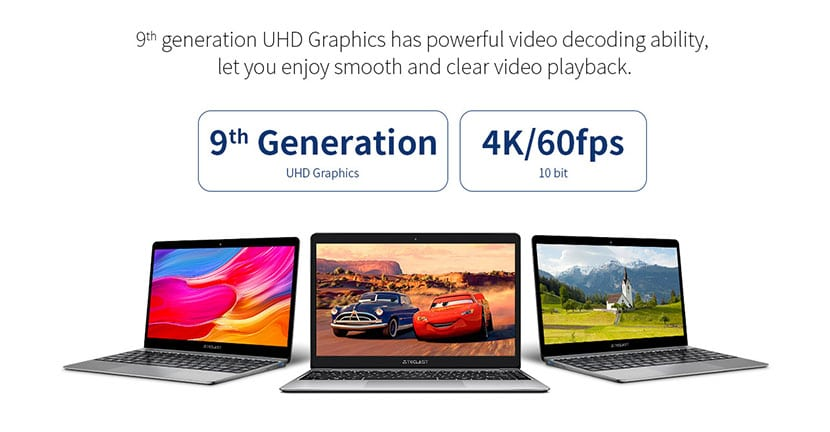 9th gen graphics teclast f7 plus