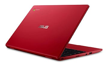 ASUS C223NA-DH02-RD Chromebook Red Laptop​