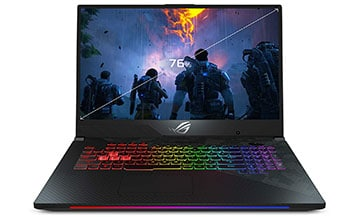 asus rog strix scar ii gl704gv-ds74 gaming laptop