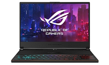 asus rog zephyrus s gx531gx-xs74 gaming laptop with rtx 2080