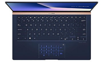 ASUS ZenBook 14 Ultra-Slim Laptop with Backlit Keyboard​