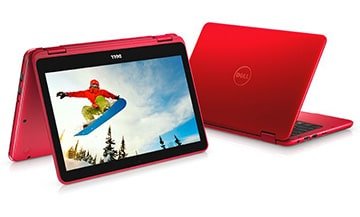 Dell Inspiron 11 3000 Series 3185 2-in-1 Red Laptop​