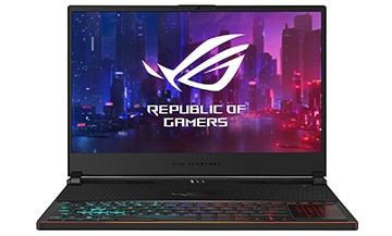 ASUS ROG Zephyrus S GX531GW – Best 15 inch Gaming Laptop​