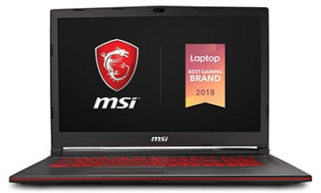 MSI GL73 8SE-010 17-inch Gaming Laptop Under $2000​