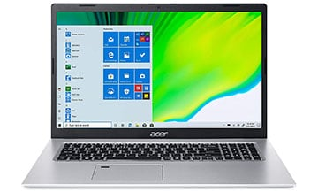 acer aspire 5 a517-52-713g 17-inch laptop