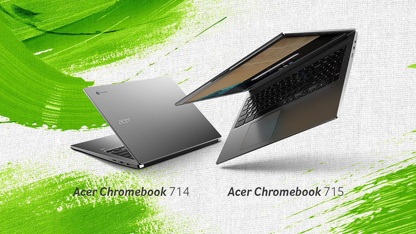 acer chromebook 715 and 714