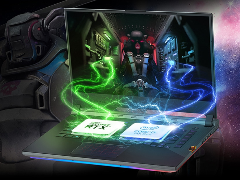 performance asus rog strix scar iii g531gw-db76