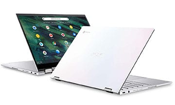 asus chromebook flip c436 white